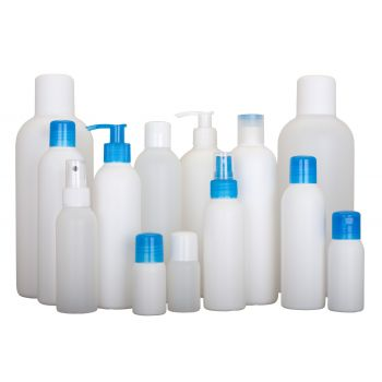 Basic Round bottles HDPE Naturel