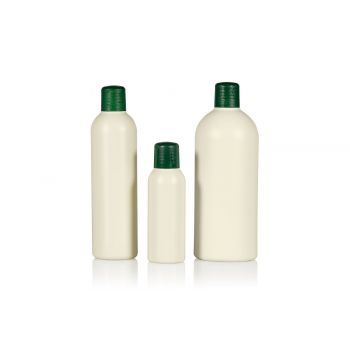 Recycled Basic Round bottles HDPE